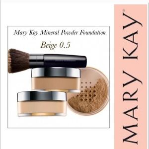 Mary Kay Mineral Powder Foundation ~ Beige 0.5
